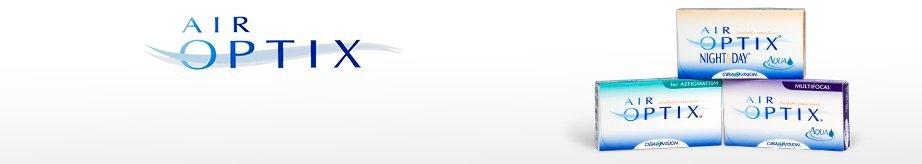 Air Optix contact lenses at NH optometrist Plattekloof
