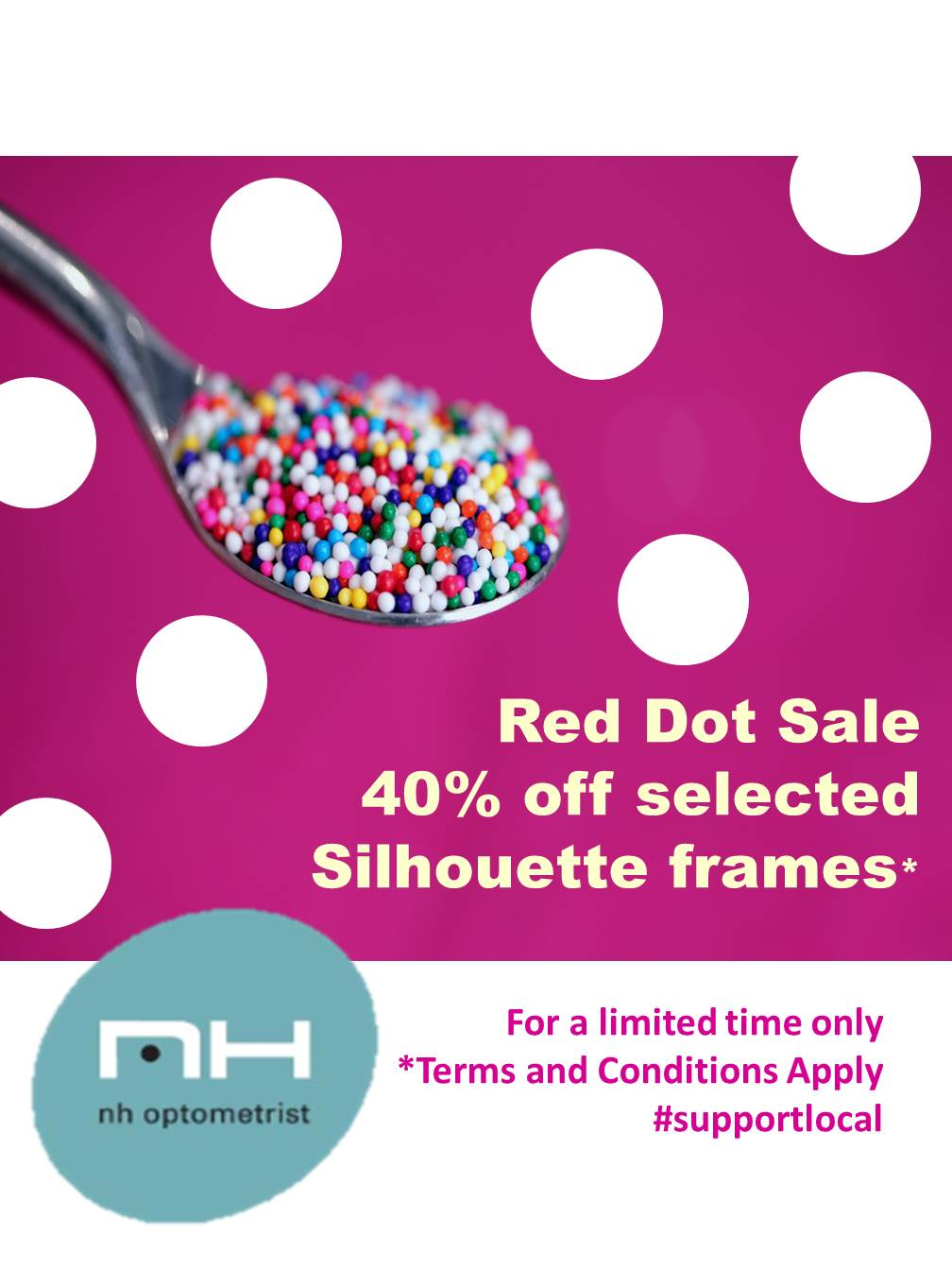 40% off Silhouette frames at NH Optometrist Plattekloof