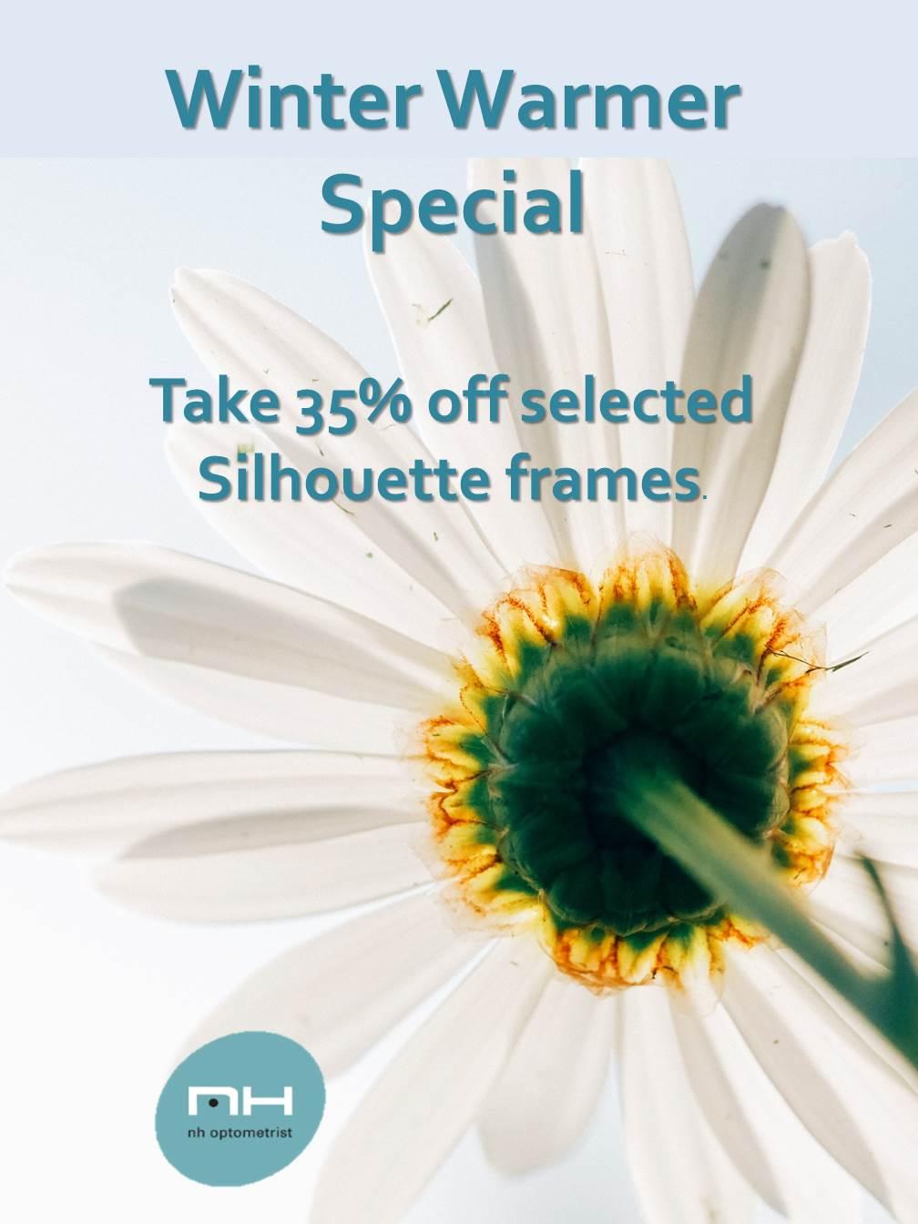 Sale on Silhouette frames at NH Optometrist Plattekloof Cape Town